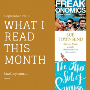 A 14-year-old book blogger shares his reading list for this month