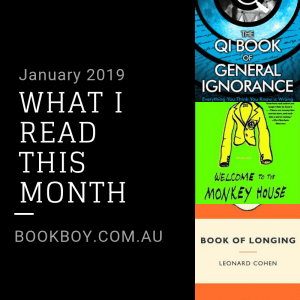 What I read this month January 2019